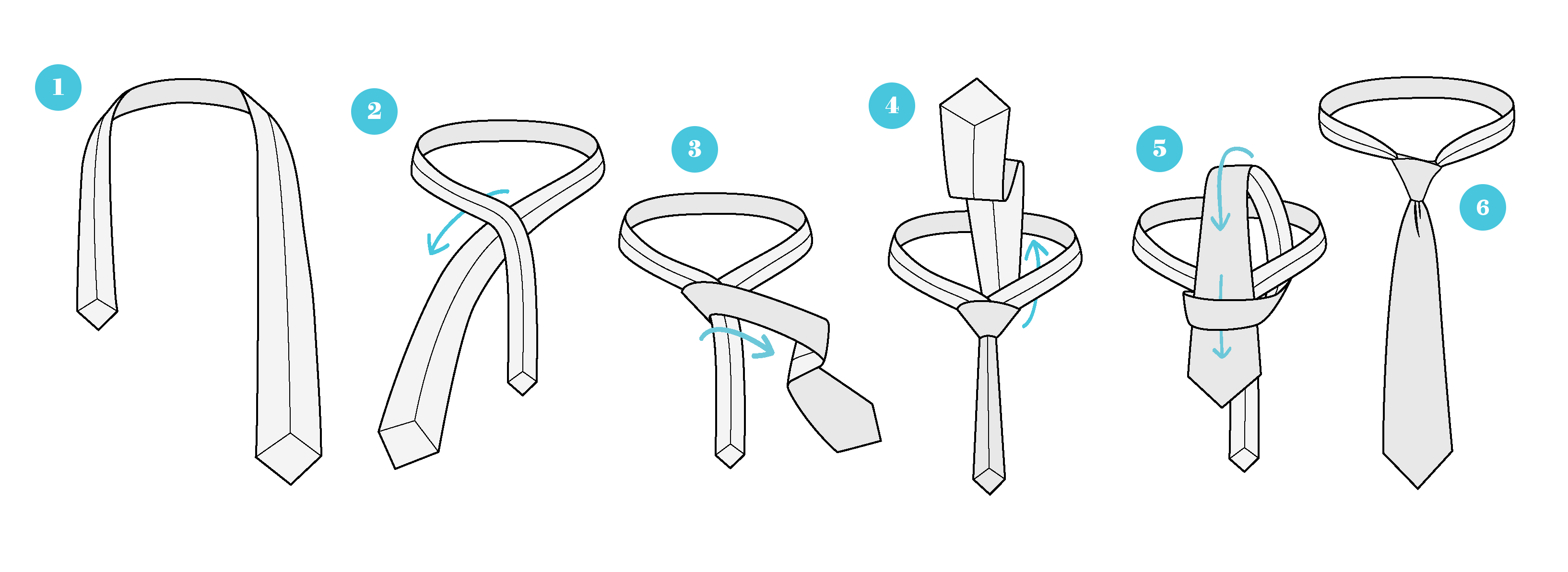 the simple knot for ties